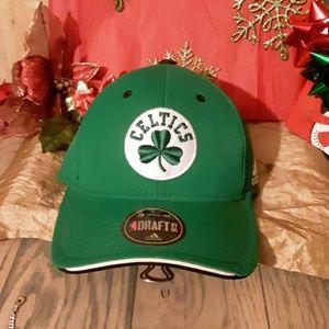 Vtg Adidas Celtics cap